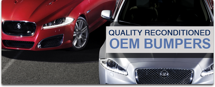 Quality Reconditioned OEM Bumpers